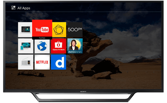 Internet TV SONY 55""