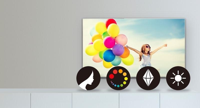 Smart Tivi Panasonic 40 inch TH-40DS500V-Tái hiện hình ảnh Full HD sắc nét với màu sắc tươi tắn, tự nhiên