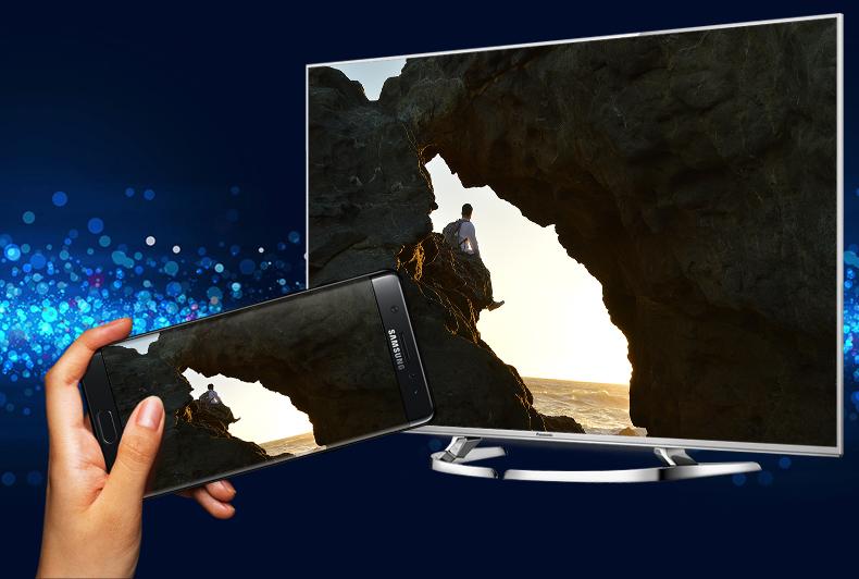 Smart Tivi Panasonic 58 inch TH-58DX700V - Chiếu màn hình điện thoại lên tivi