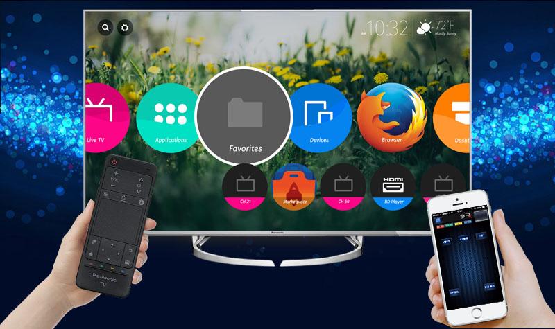 Smart Tivi Panasonic 58 inch TH-58DX700V - Điều khiển tivi bằng điện thoại