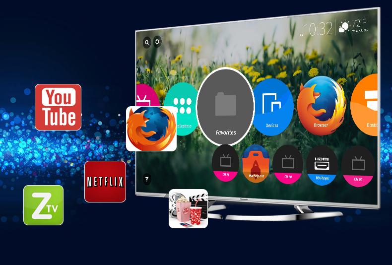 Smart Tivi Panasonic 58 inch TH-58DX700V - Ứng dụng
