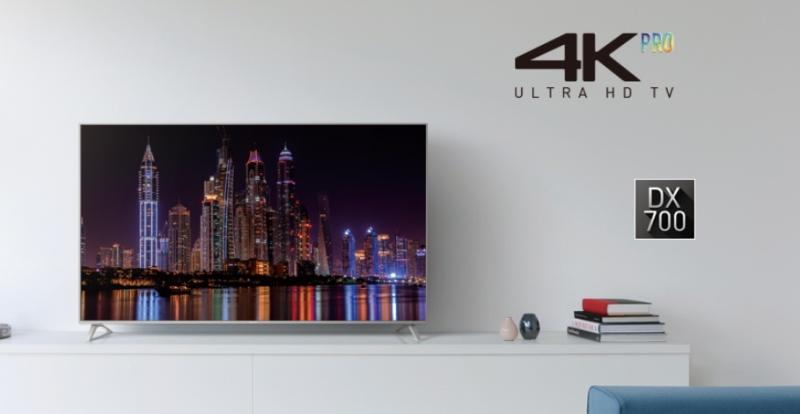 Smart Tivi Panasonic 65 inch TH-65DX700V-Thiết kế đẳng cấp với viền màn hình kim loại siêu nhỏ