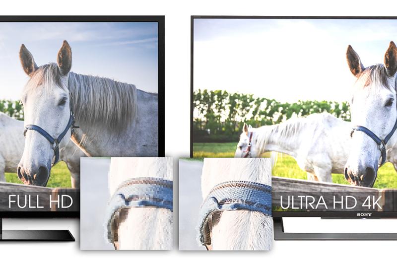 Android Tivi Sony 43 inch KD-43X8000D - Độ nét Ultra HD 4K
