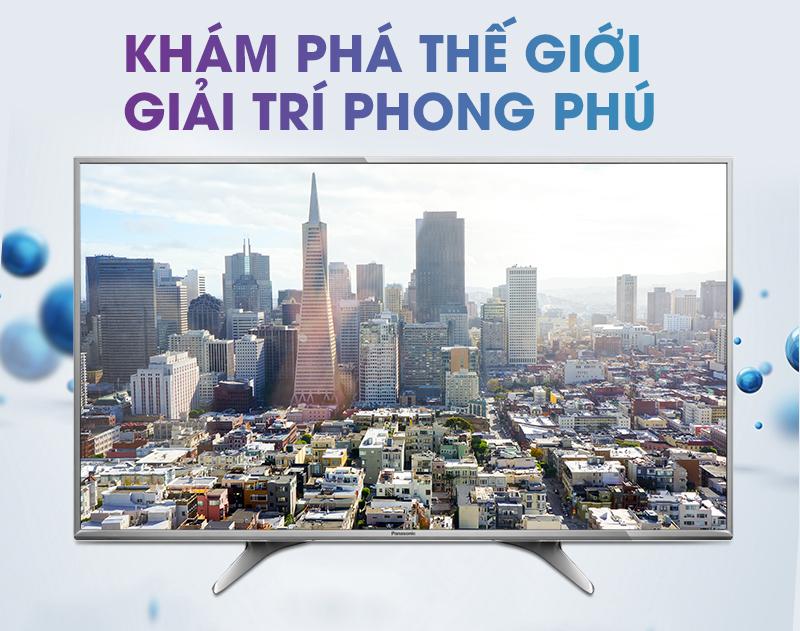Smart Tivi Panasonic 55 inch TH-55DX650V Giá tại :  TP. HCM   25.890.000₫