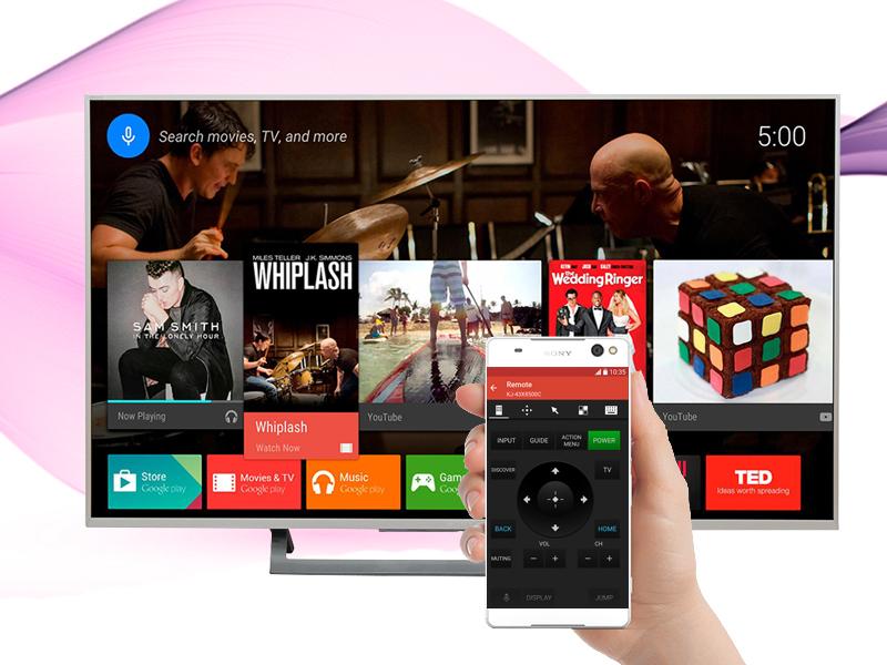 Android Tivi Sony 43 inch KD-43X8000D/S - Điều khiển tivi bằng điện thoại