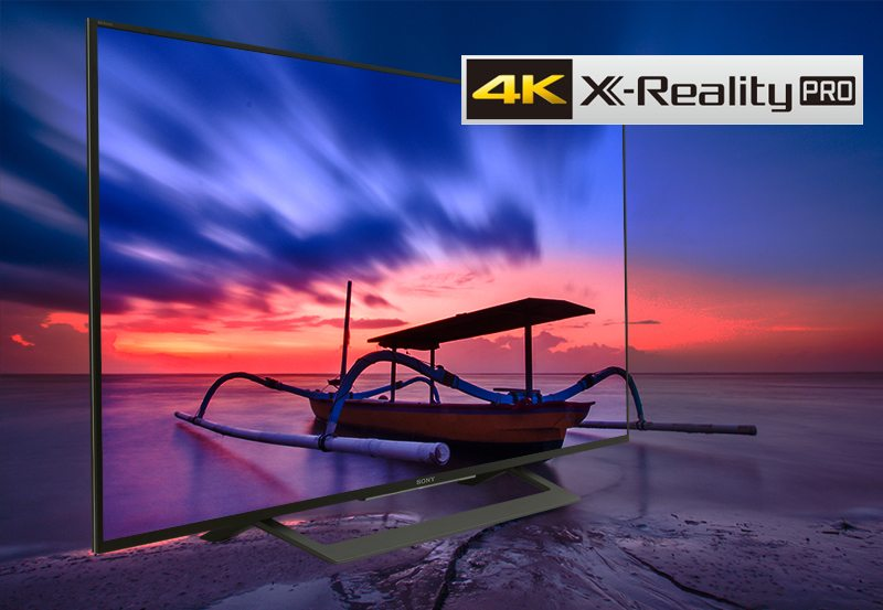Android Tivi Sony 49 inch KD-49X8000D-4K X-Reality Pro