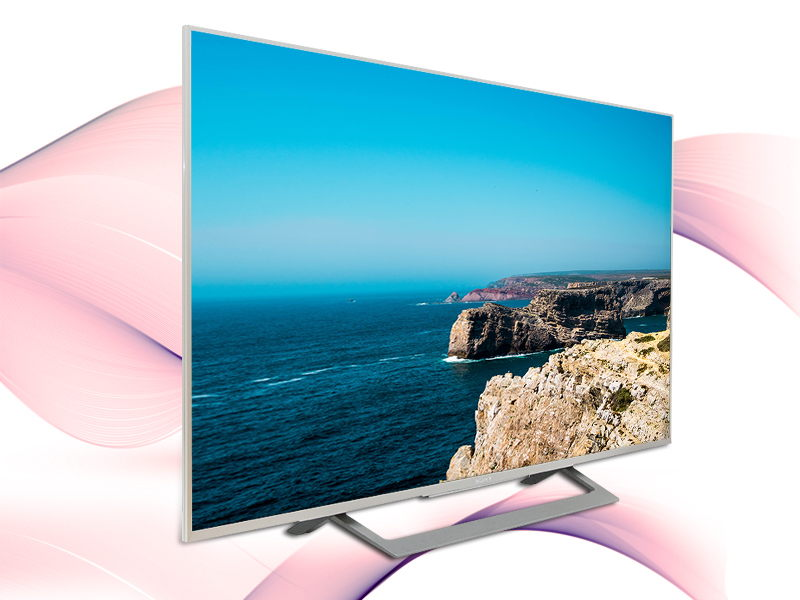 Android Tivi Sony 49 inch KD-49X8000D/S-Thiết kế đẹp