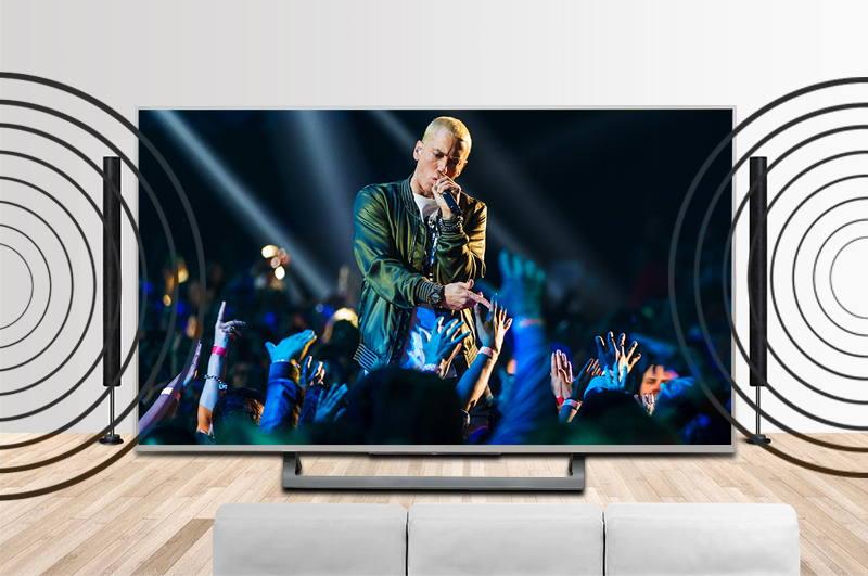 Android Tivi Sony 49 inch KD-49X8000D/S-Âm thanh bùng nổ