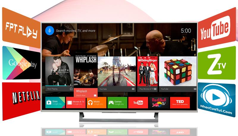 Android Tivi Sony 49 inch KD-49X8000D/S-Android tivi sony