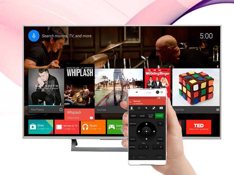 Android Tivi Sony 49 inch KD-49X8000D/S-Điều khiển tivi bằng điện thoại
