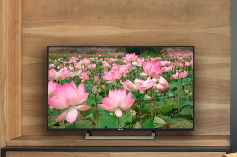 Android Tivi Sony 49 inch KD-49X8000D/S - Thiết kế sang trọng
