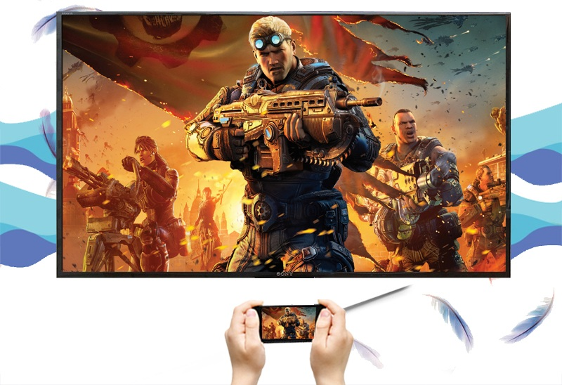 Android Tivi Sony 49 inch KD-49X8000D/S - Screen Mirroring