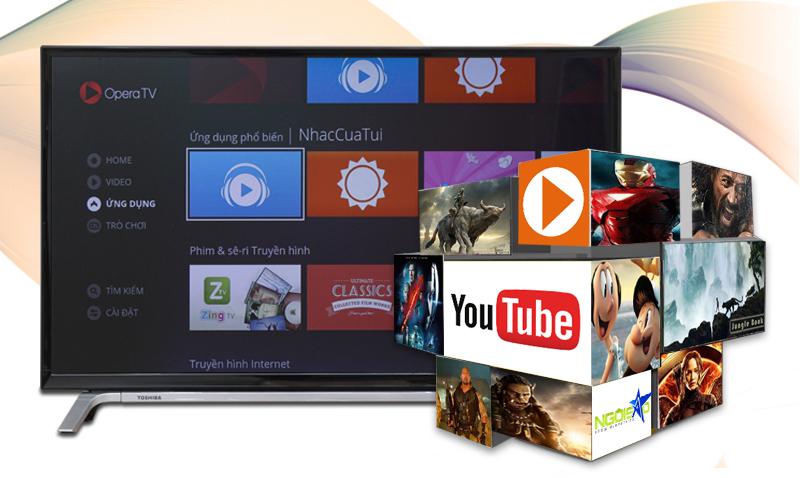 Smart Tivi Toshiba 32 inch 32L5650 - Các tính năng giải trí đặc sắc