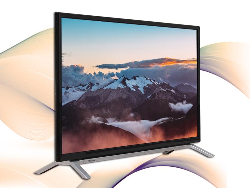 Smart Tivi Toshiba 32 inch 32L5650 - Thiết kế đơn giản, sang trọng