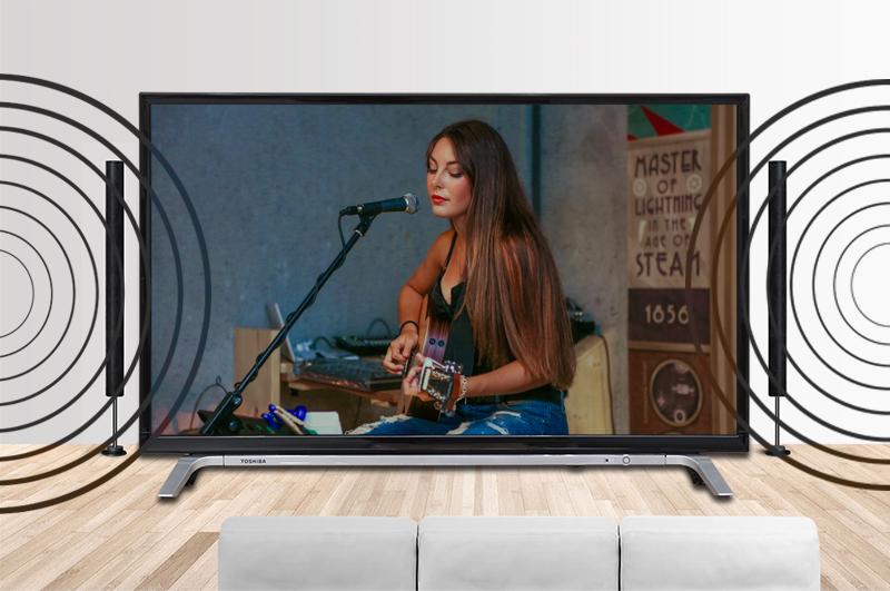 Smart Tivi Toshiba 32 inch 32L5650 - Công nghệ âm thanh vòm