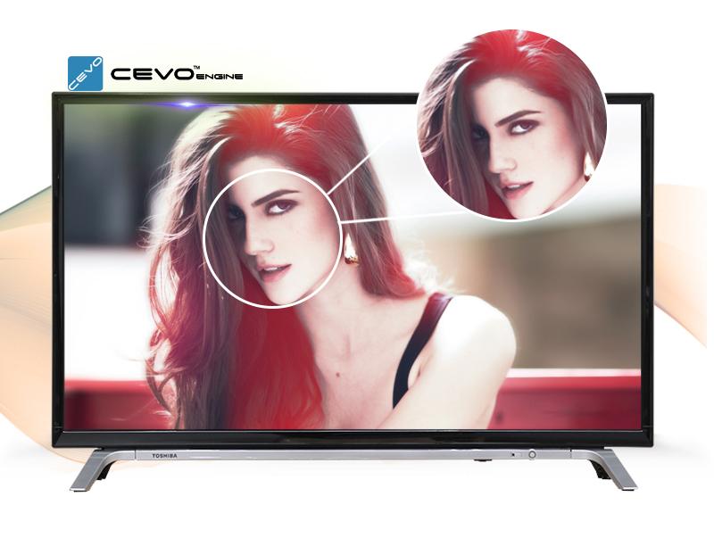 Smart Tivi Toshiba 32 inch 32L5650 - Hình ảnh sắc nét