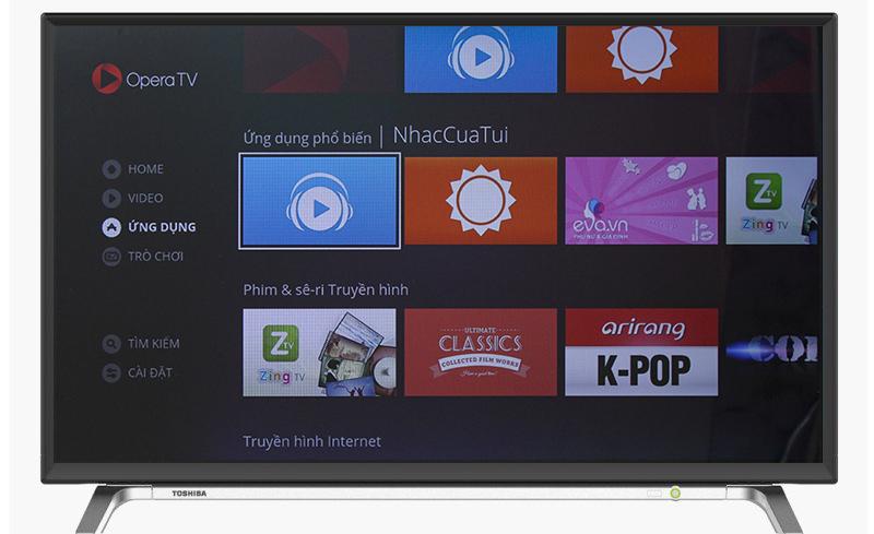 Smart Tivi Toshiba 43 inch 43L5650 - Ứng dụng giải trí