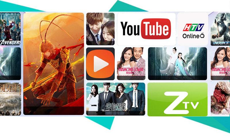 Android Tivi Sony 49 inch KD-49X7000D - Nhiều tính năng giải trí đa dạng