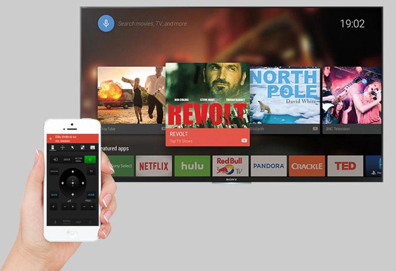 Android Tivi Sony 49 inch KD-49X7000D - Điều khiển tivi dễ dàng