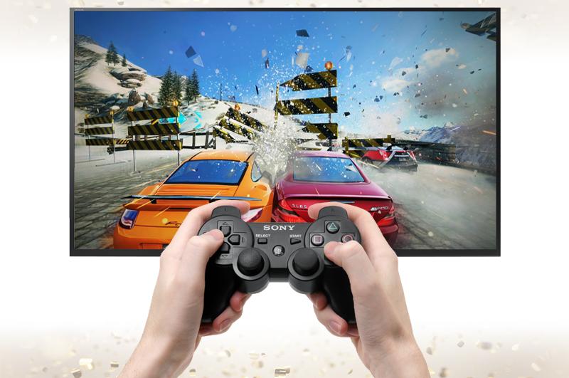 Android Tivi Sony 49 inch KD-49X7000D - Kết nối tay cầm chơi game