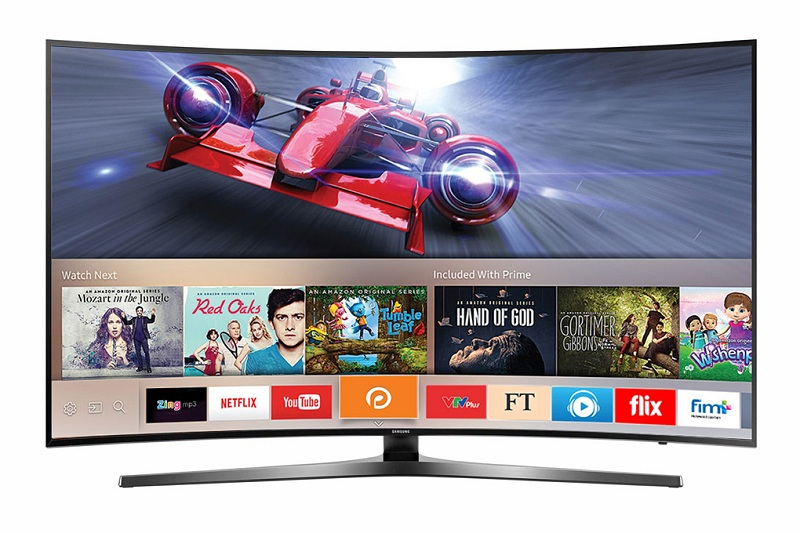Smart Tivi Cong Samsung 78 inch UA78KU6500 - Thiết kế sang trọng, hiện đại