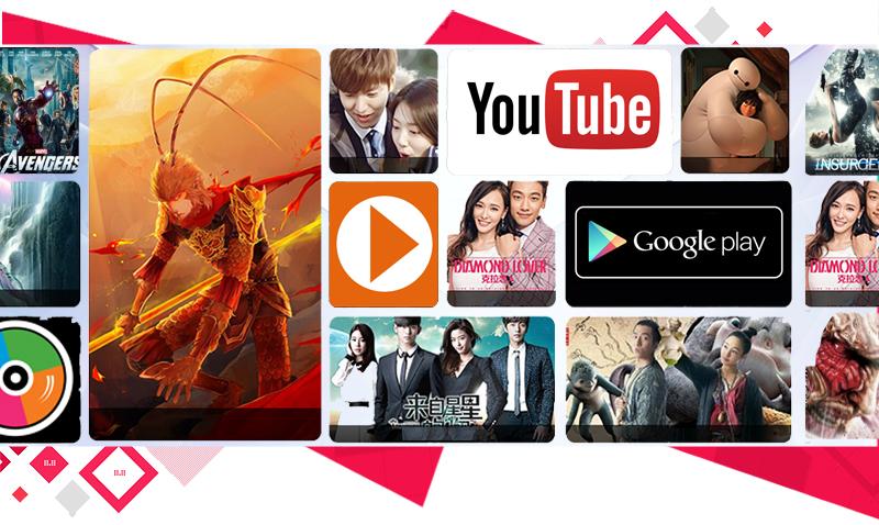 Android Tivi Sony 55 inch KD-55X7000D - Hệ điều hành đơn giản