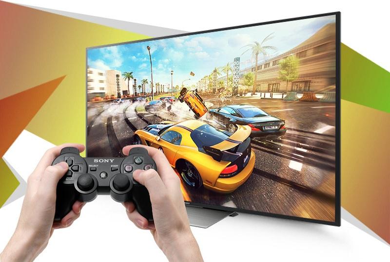 Android Tivi Sony 55 inch KD-55X7000D - Chơi game ngay trên tivi