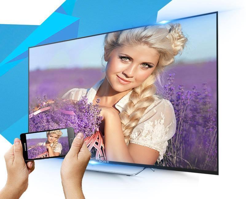 Android Tivi Sony 65 inch KD-65X7500D-Screen Mirroring