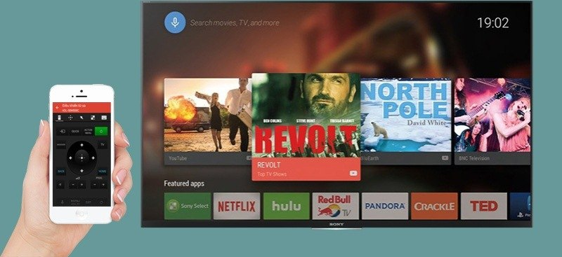 Android Tivi Sony 65 inch KD-65X7500D-Sony Video & TV SideView