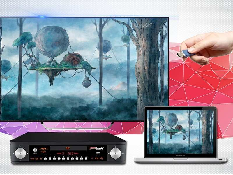 Android Tivi Sony 65 inch KD-65X7500D-Kết nối