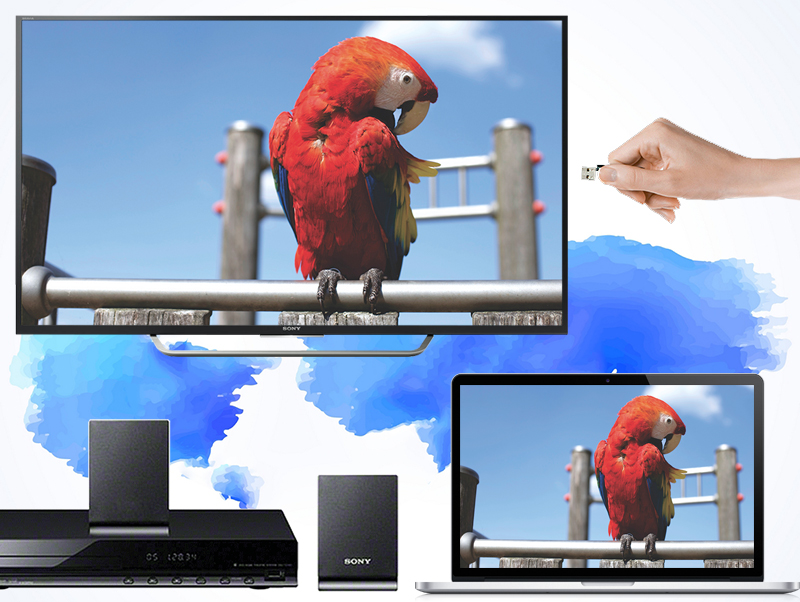 Android Tivi Sony 65 inch KD-65X7500D - Kết nối