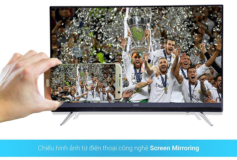 Chiếu màn hình điện thoại lên tivi qua Screen Mirroring