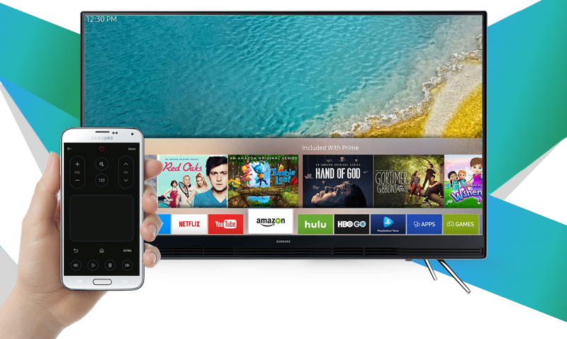 Smart Tivi Samsung 43 inch UA43K5300 - Điều khiển tivi bằng điện thoại