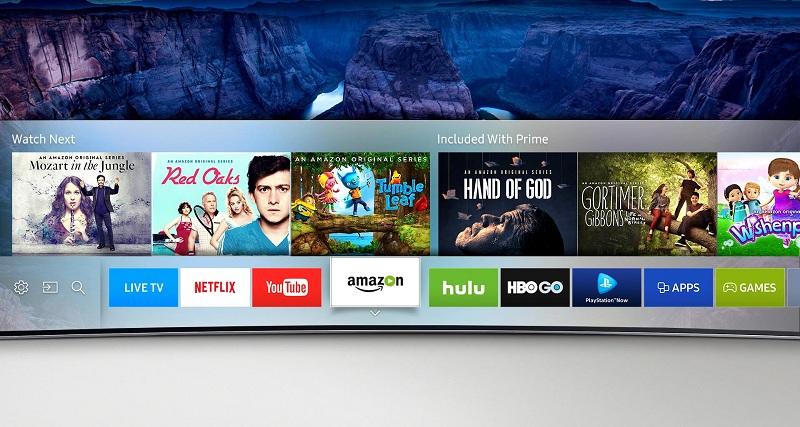 Smart Tivi Samsung 70 inch UA70KU6000 - Giao diện Tizen độc quyền