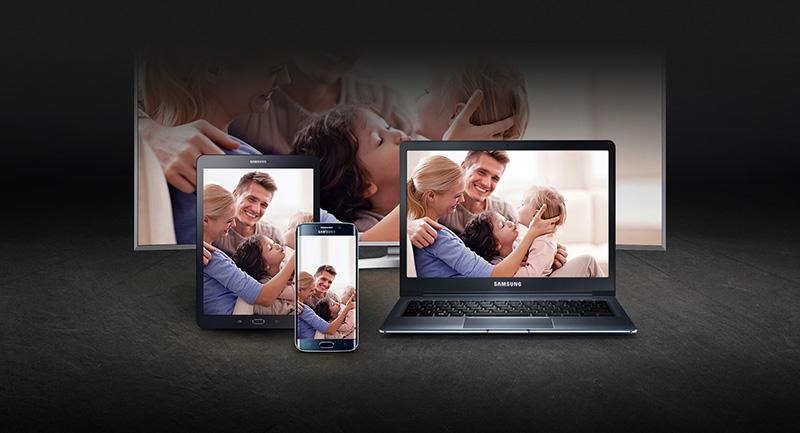 Smart Tivi Samsung 70 inch UA70KU6000 - Chiếu màn hình điện thoại lên màn hình tivi