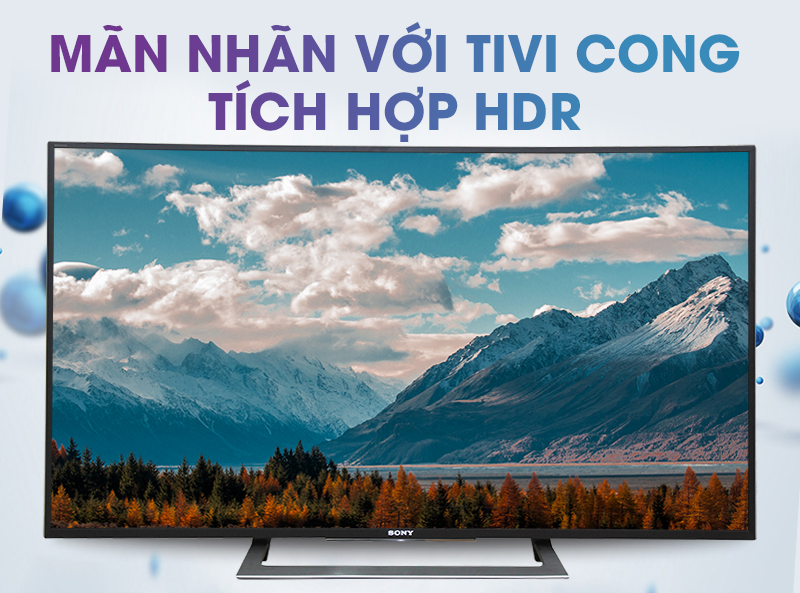 Android Tivi Sony Cong 50 inch KD-50S8000D