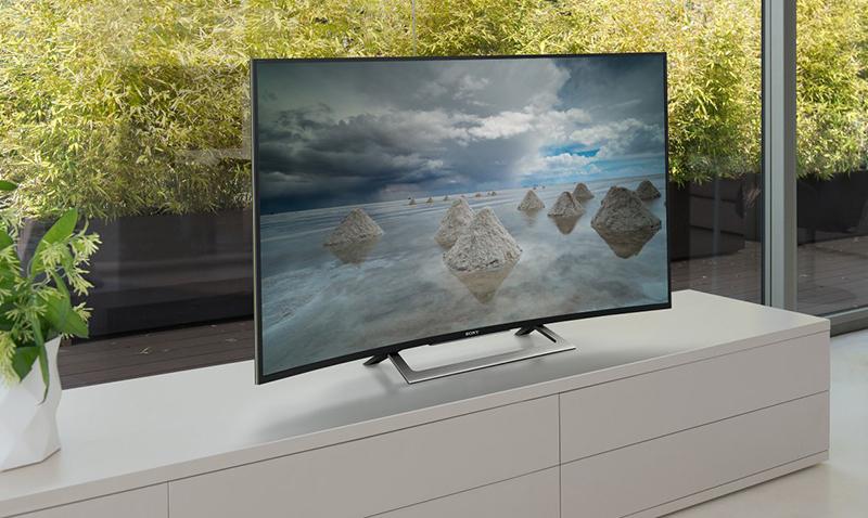 Android Tivi Sony Cong 50 inch KD-50S8000D - Thiết kế ấn tượng