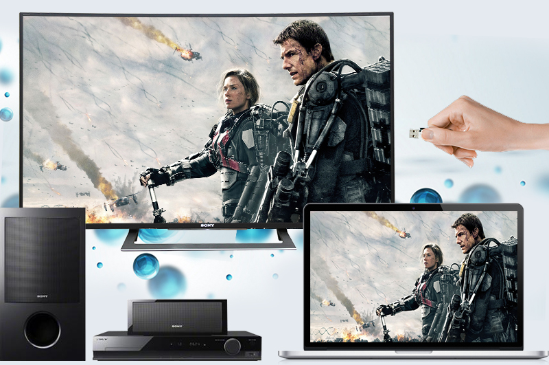 Android Tivi Sony Cong 50 inch KD-50S8000D - Kết nối