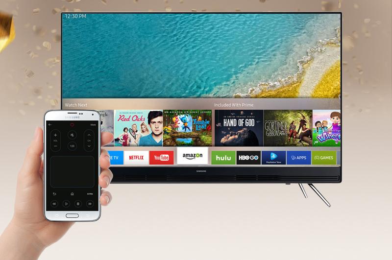 Smart Tivi Samsung 55 inch UA55K5300 - Điều khiển tivi bằng điện thoại