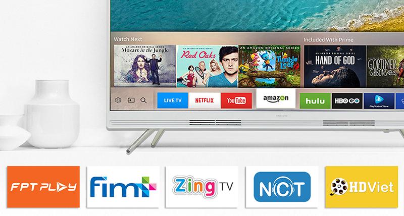 Smart tivi Samsung giao diện thân thiện, nhiều tính năng giải trí đặc sắc