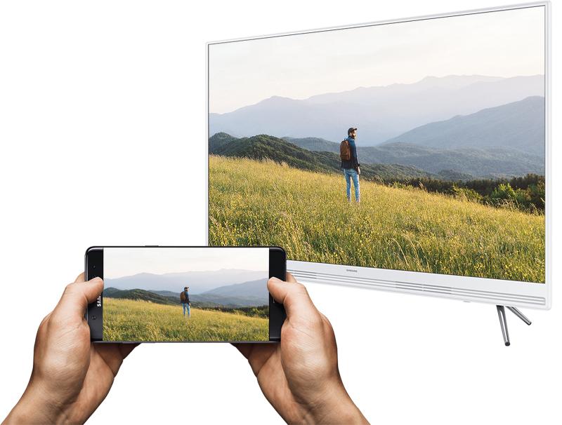 Smart Tivi Samsung 43 inch UA43K5310 - Chiếu màn hình điện thoại lên tivi