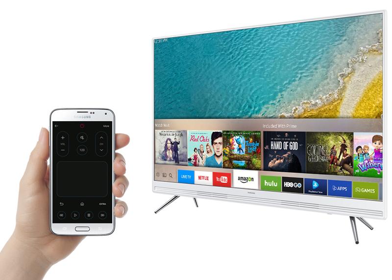 Smart Tivi Samsung 43 inch UA43K5310 - Điều khiển tivi bằng điện thoại