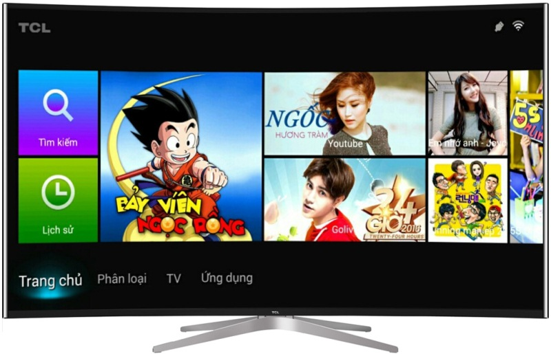 Smart Tivi TCL 65 inch L65C1-UC - Màn hình cong sang trọng, cuốn hút