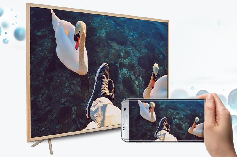 Smart Tivi TCL 43 inch L43Z2 - Chiếu màn hình điện thoại lên tivi