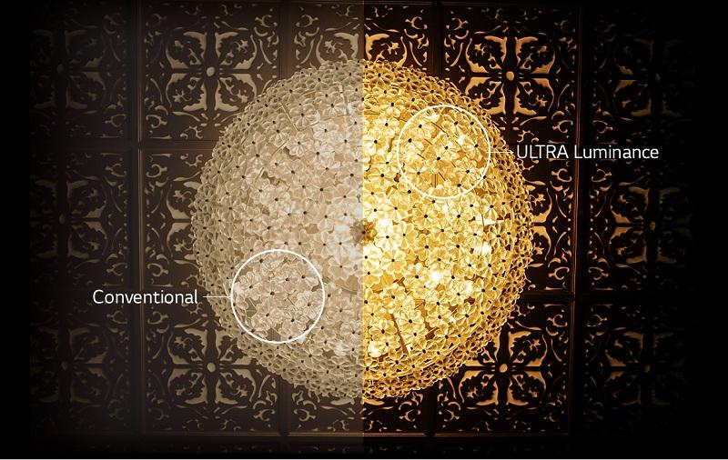 Smart Tivi OLED LG 55 inch 55B6T – Công nghệ ULTRA Luminance hiển thị hình ảnh với độ tương phản cao