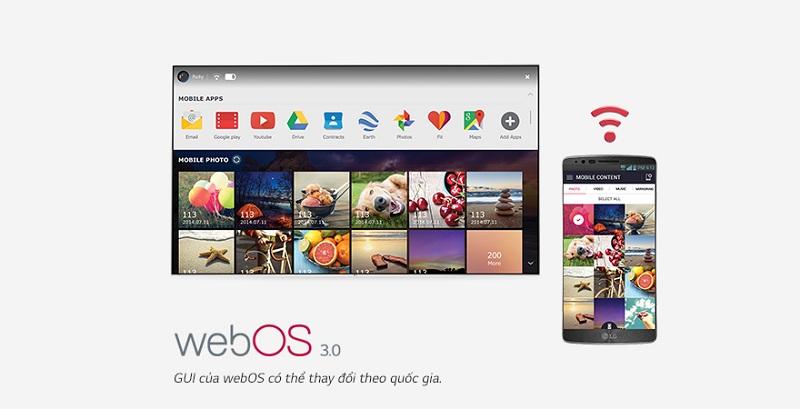 Smart Tivi OLED LG 55 inch 55B6T – Hệ điều hành WebOS 3.0 mới nhất