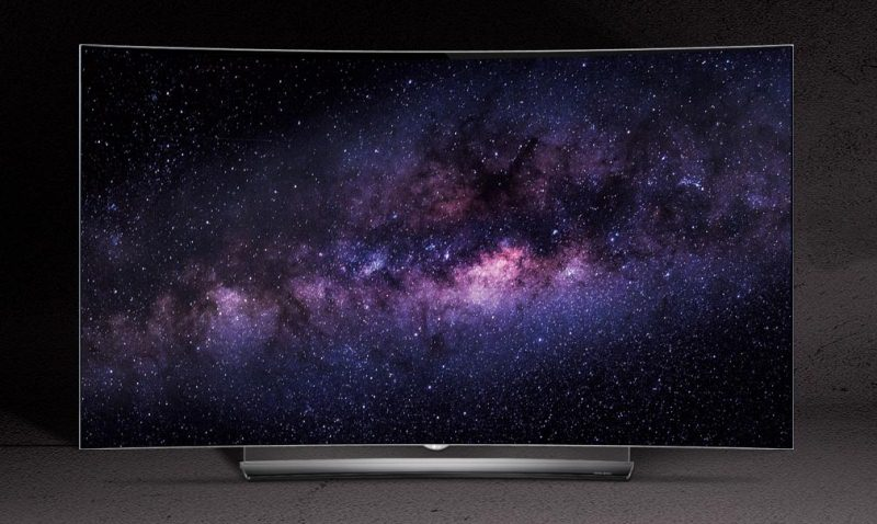 Smart Tivi Cong OLED LG 55 inch 55C6T – Thiết kế sang trọng, đẳng cấp