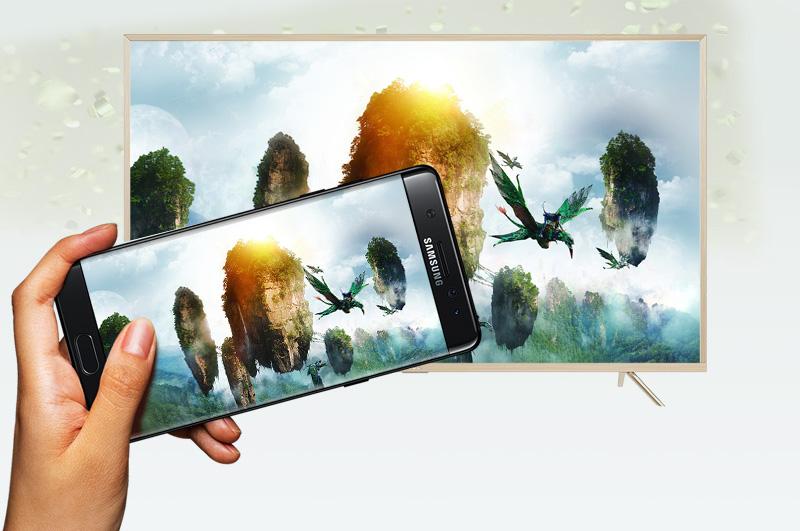 Smart Tivi TCL 49 inch L49Z2 - Chiếu màn hình điện thoại lên tivi