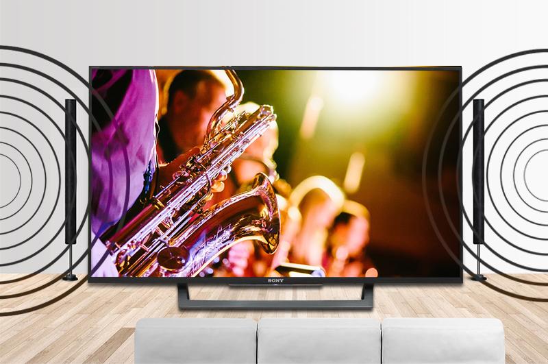 Android Tivi Sony 43 inch KD-43X8000E - Âm thanh sống động