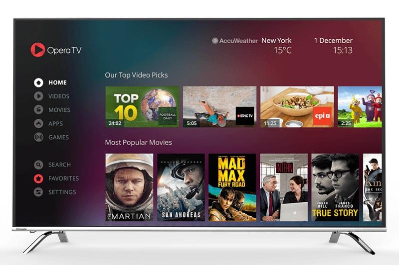 Smart Tivi Toshiba 55 inch 55U9650 – Kho ứng dụng giải trí phong phú